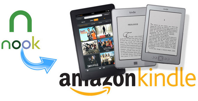 Transfer Nook Books to Kindle eReaders
